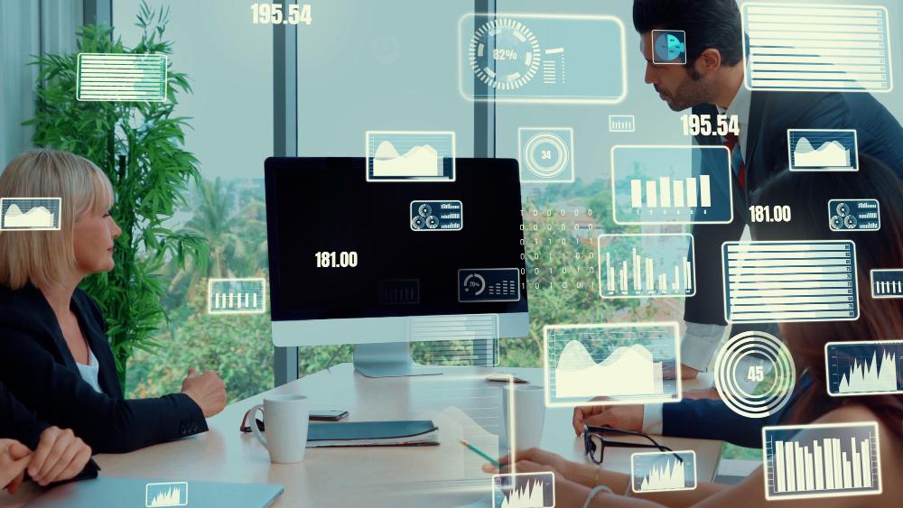 usługi back office wizualizacja danych